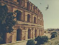 Tunis_ElJem_Amphitheatre_pr2